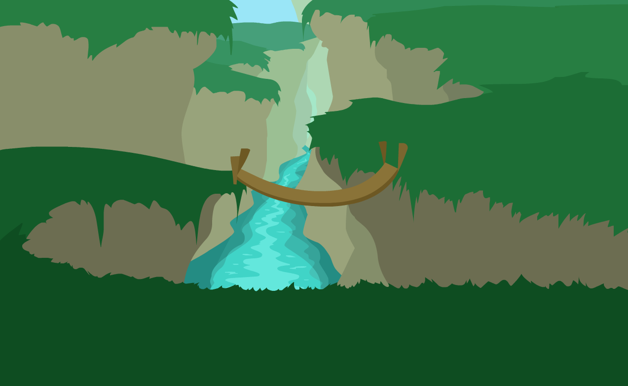 A River and some Cliffs