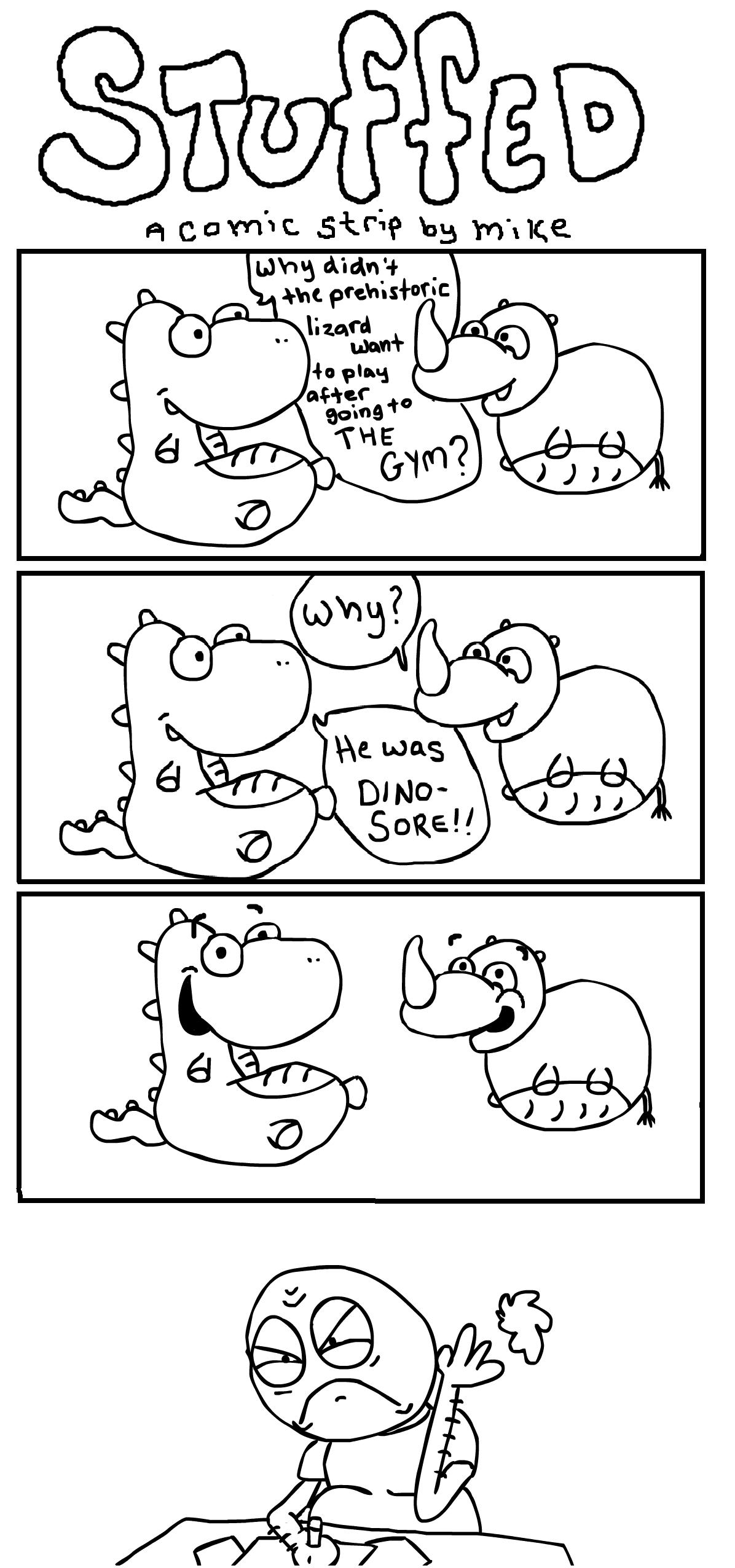 STUFFED - a comic strip