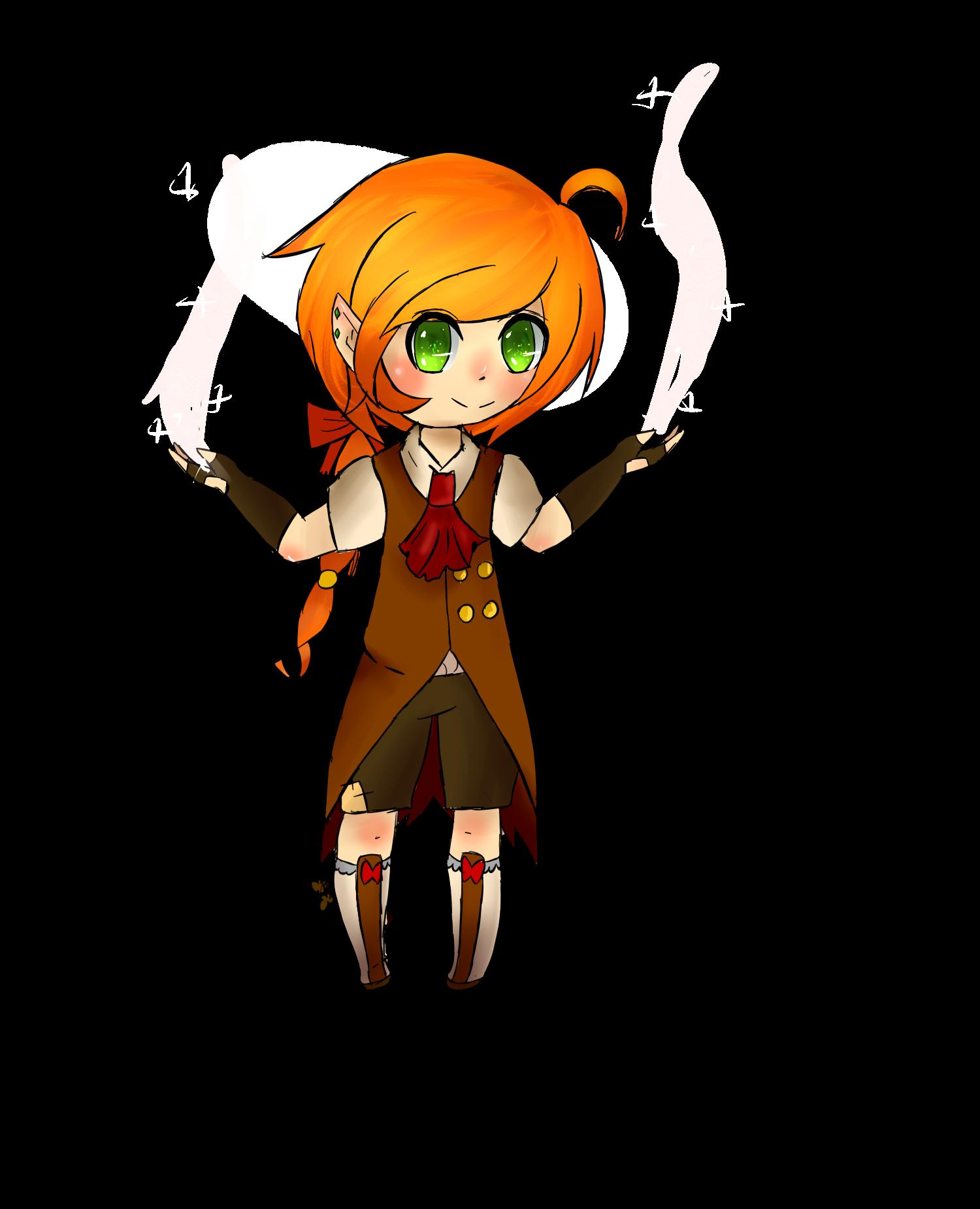 Garnet the Mage elf