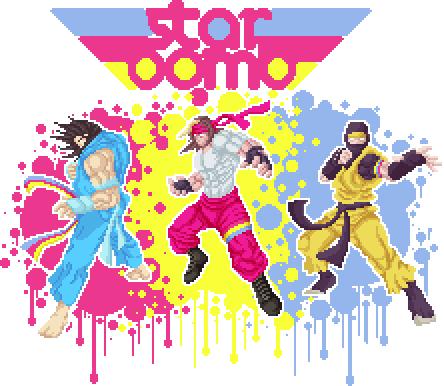 Starbomb fan art