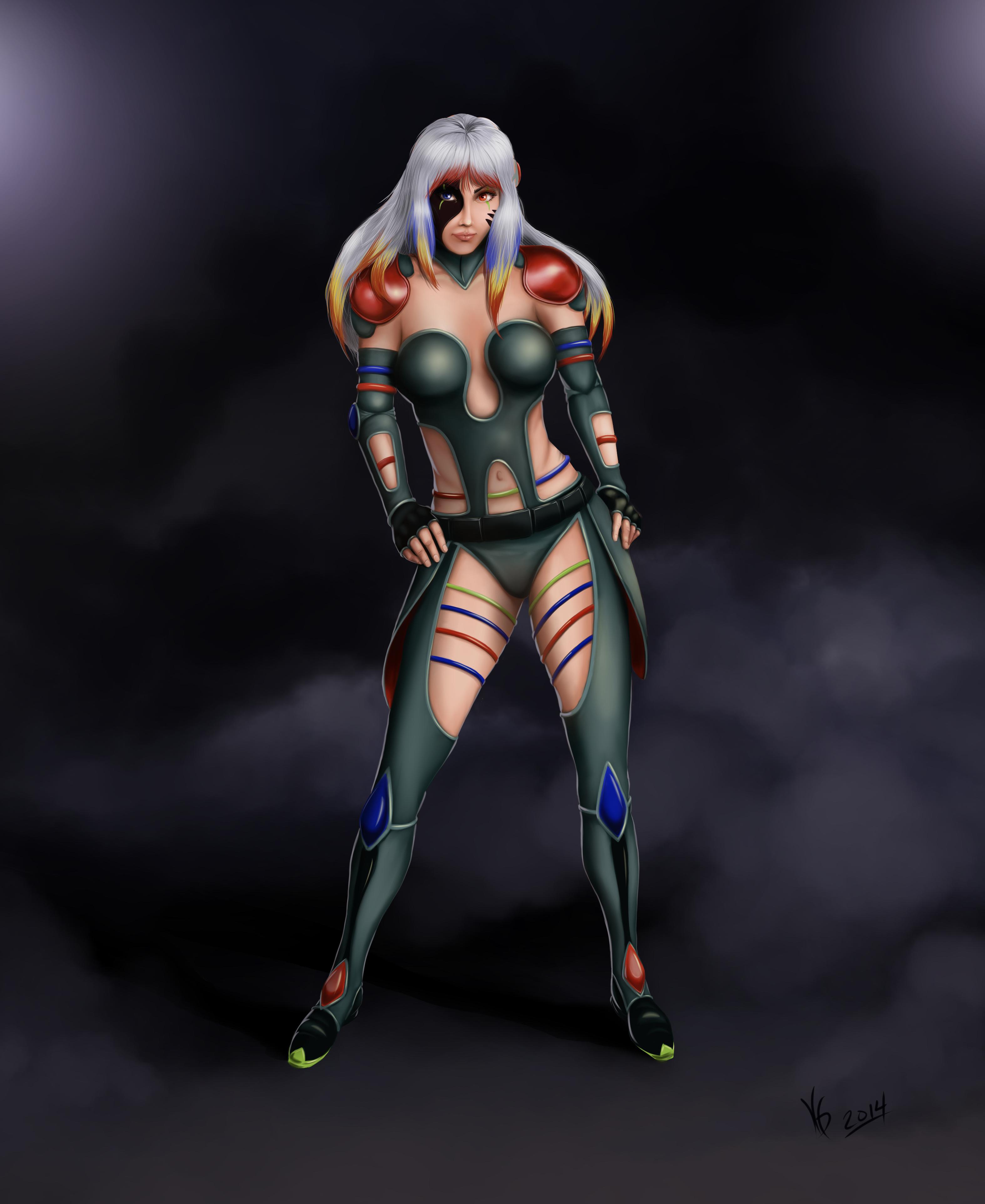 Rainbow OC Character