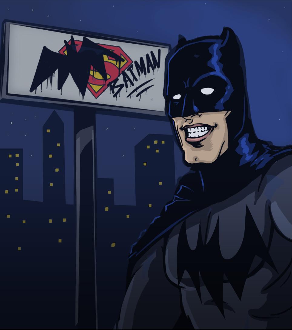 Slow Night in Gotham