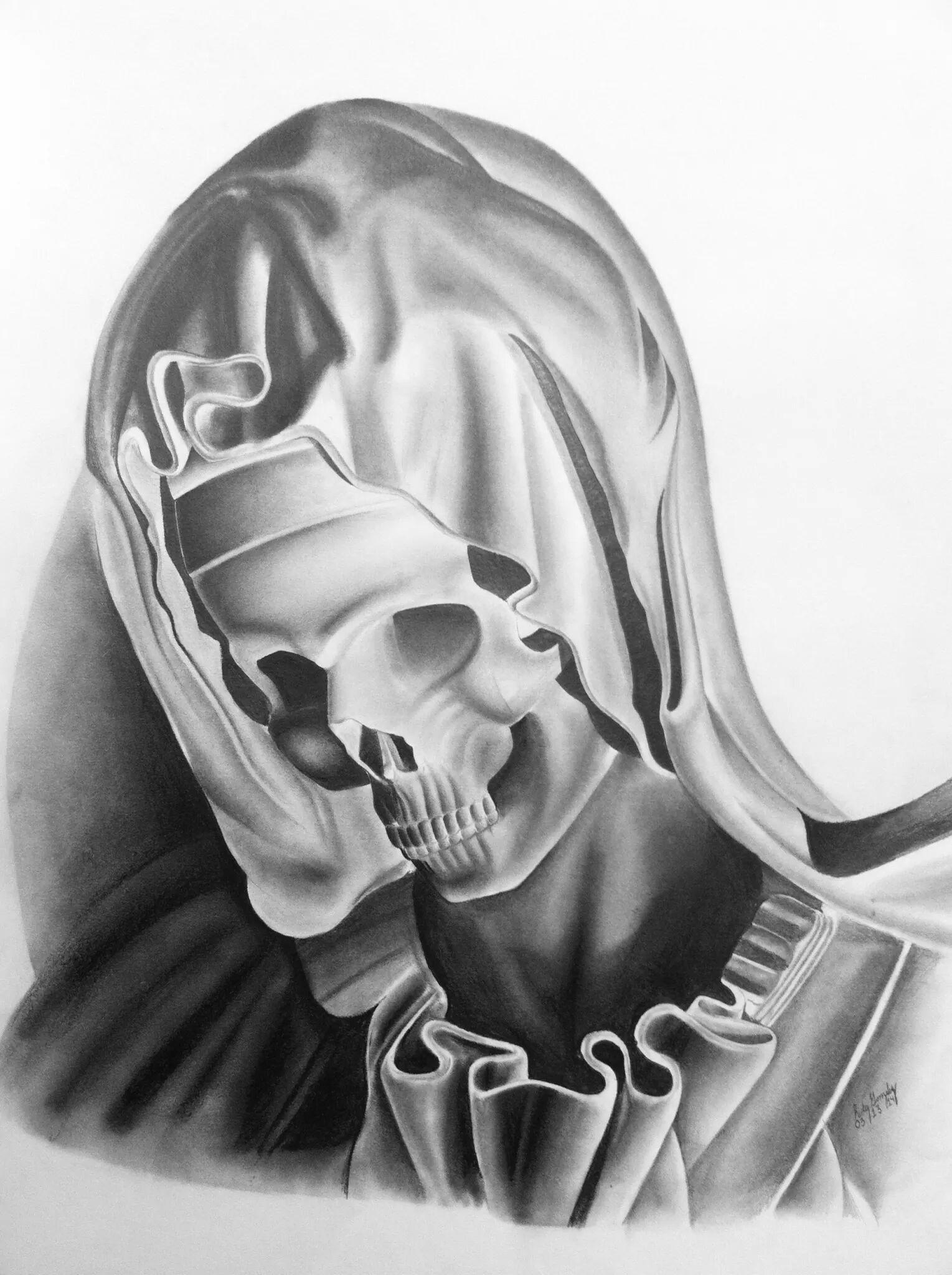 La pieta skulll