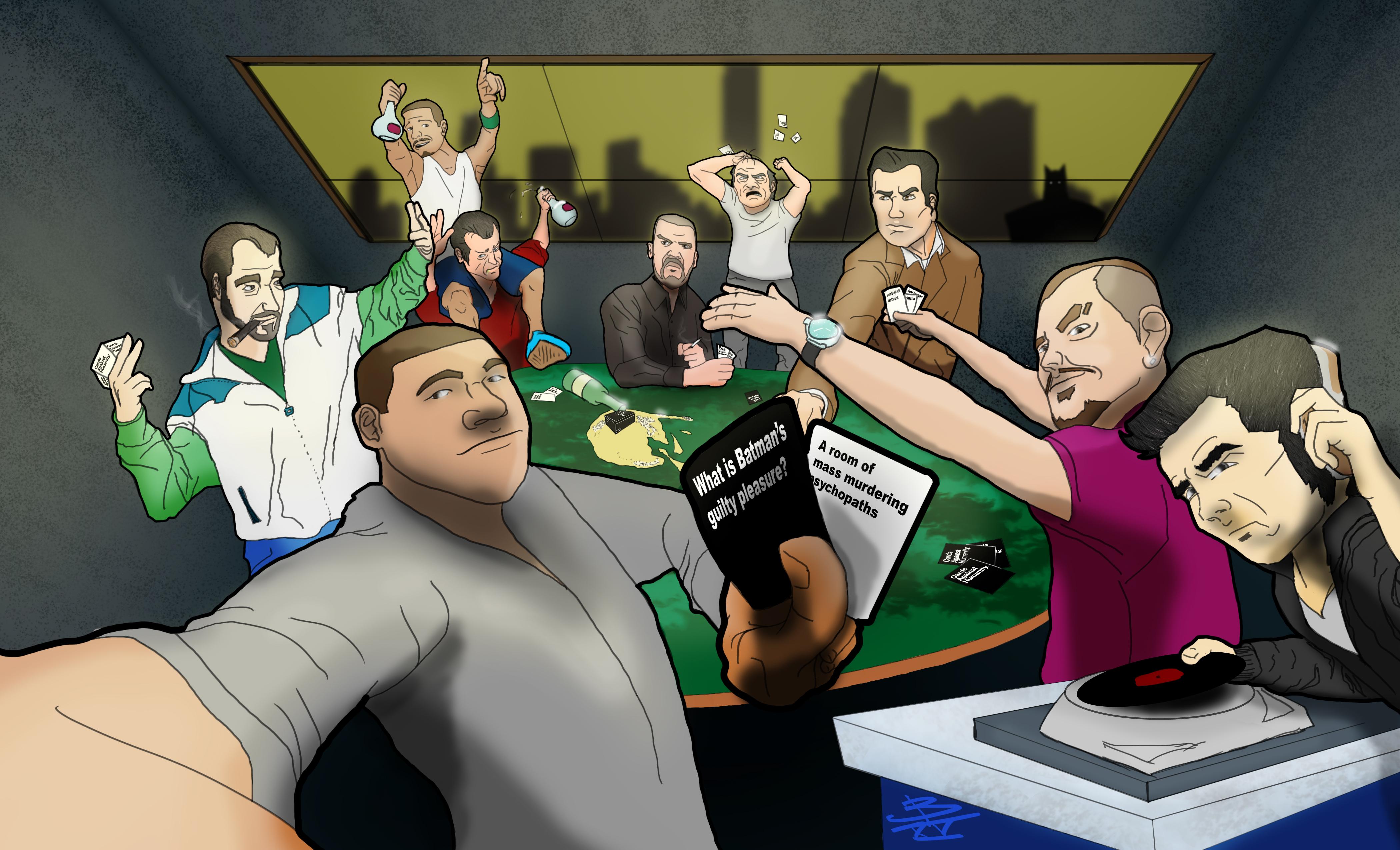 Cards Against GTA