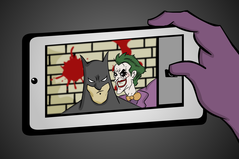 Superhero Selfie