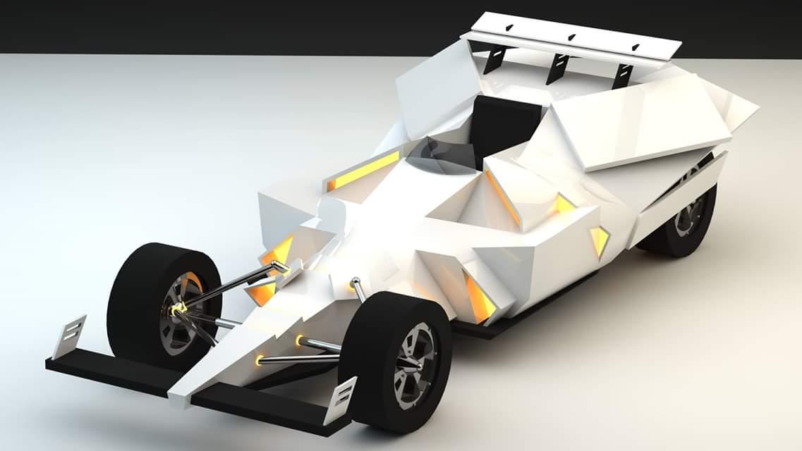 Futuristic Indy Car