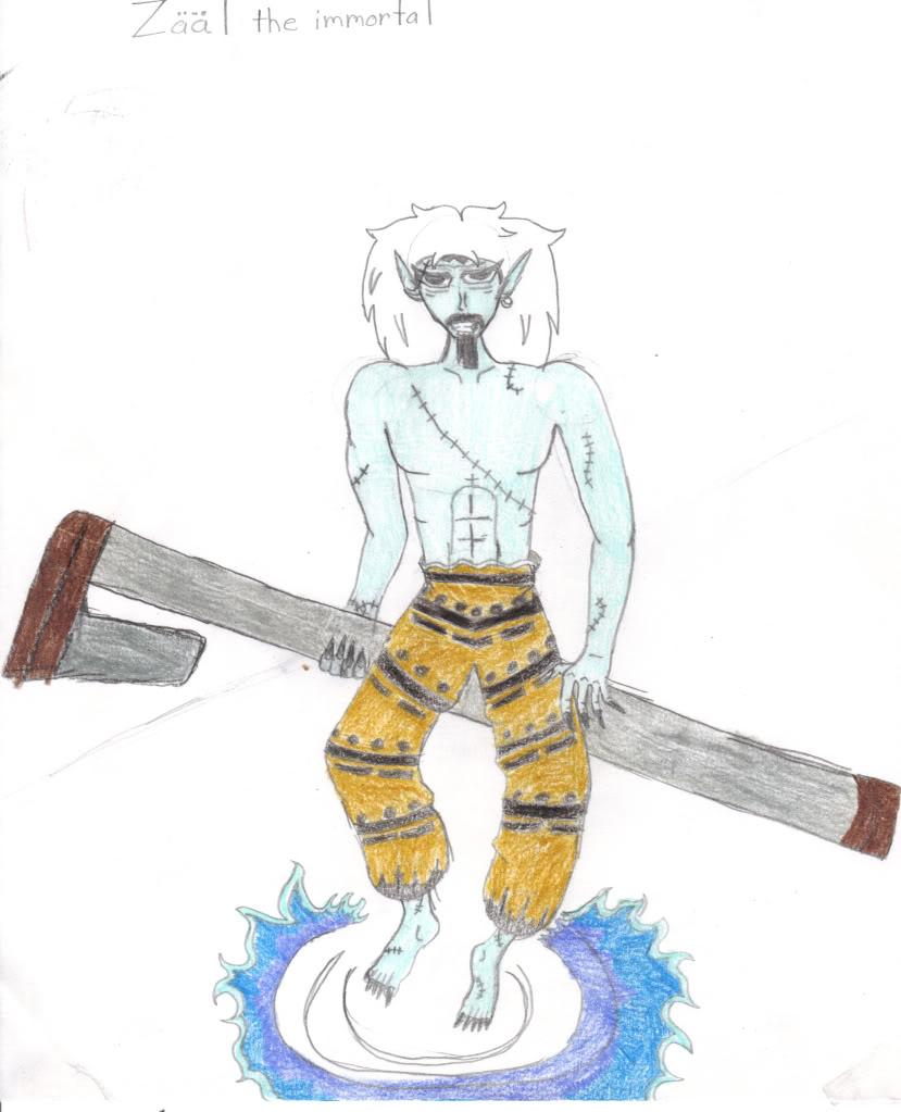 God of Destruction: Zaal