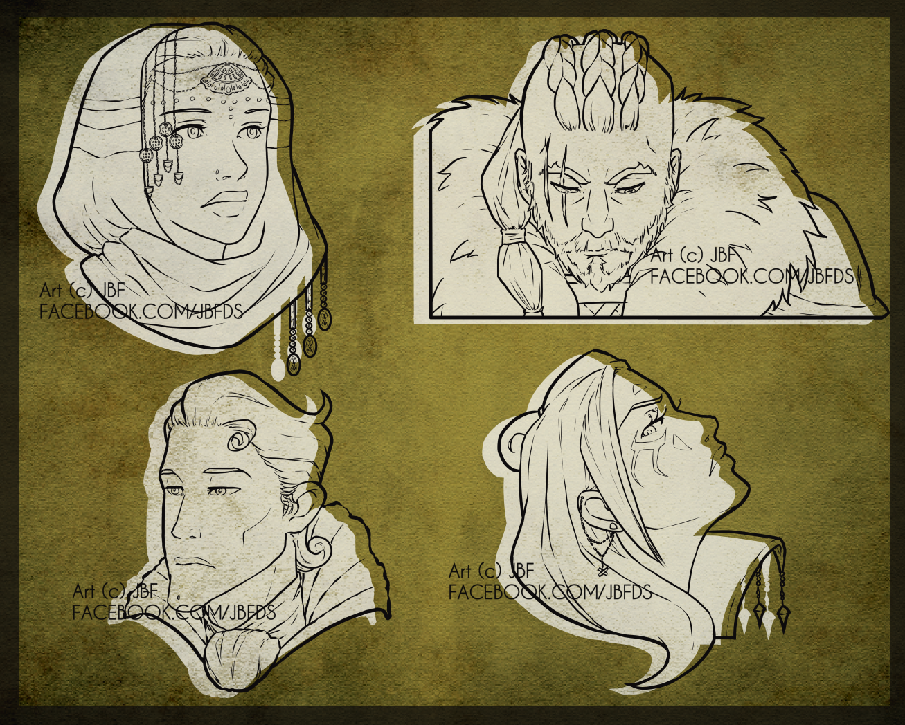 Comic Peek - Random Characters
