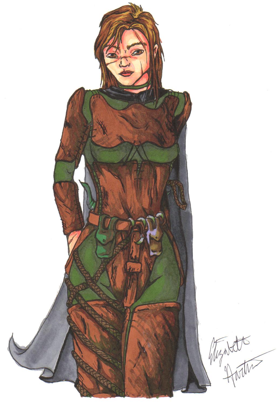 Lady Rogue Warrior