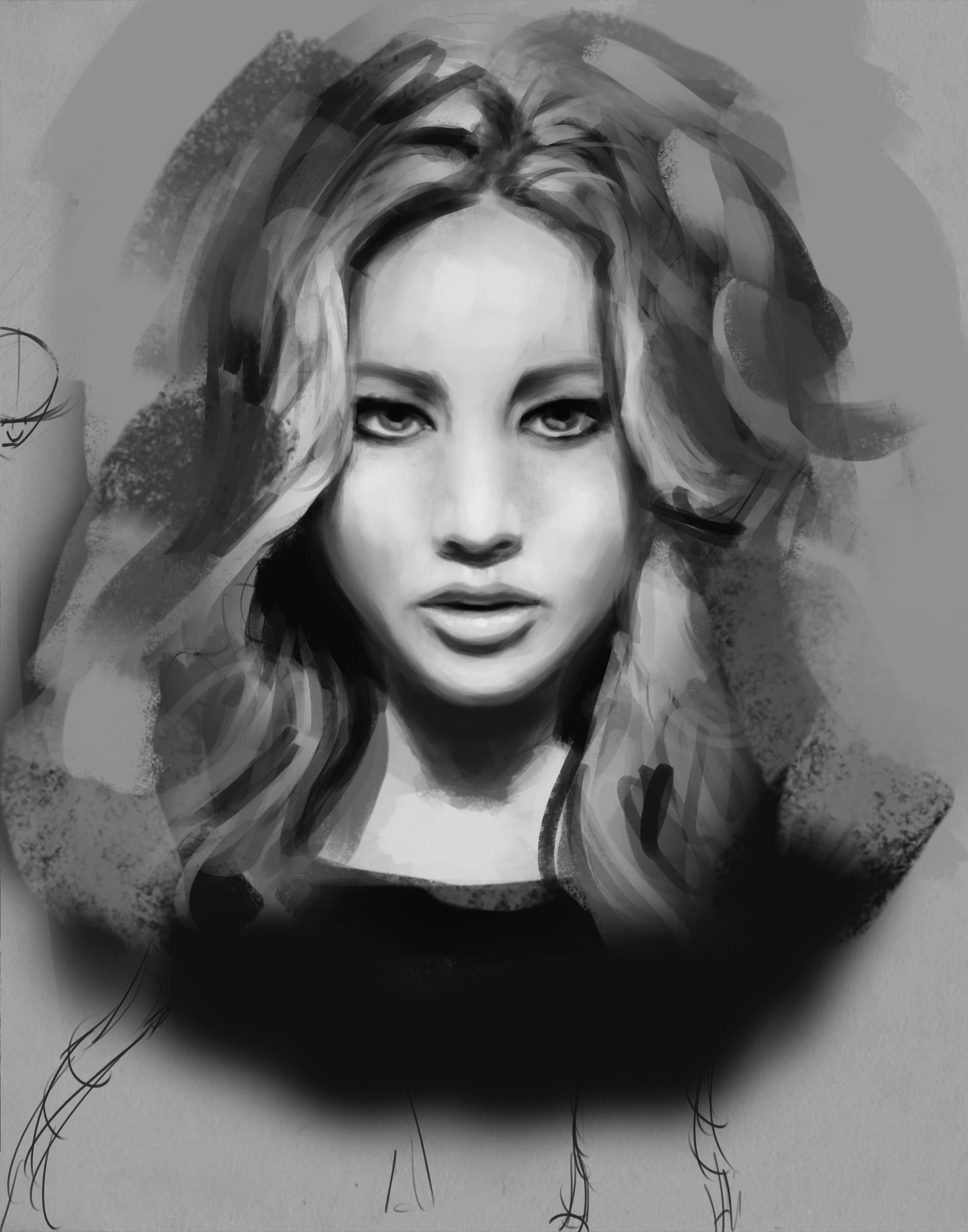 Jennifer Lawrence Study
