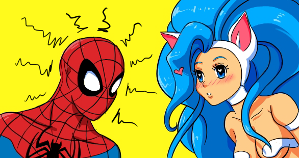Spiderman and Felicia