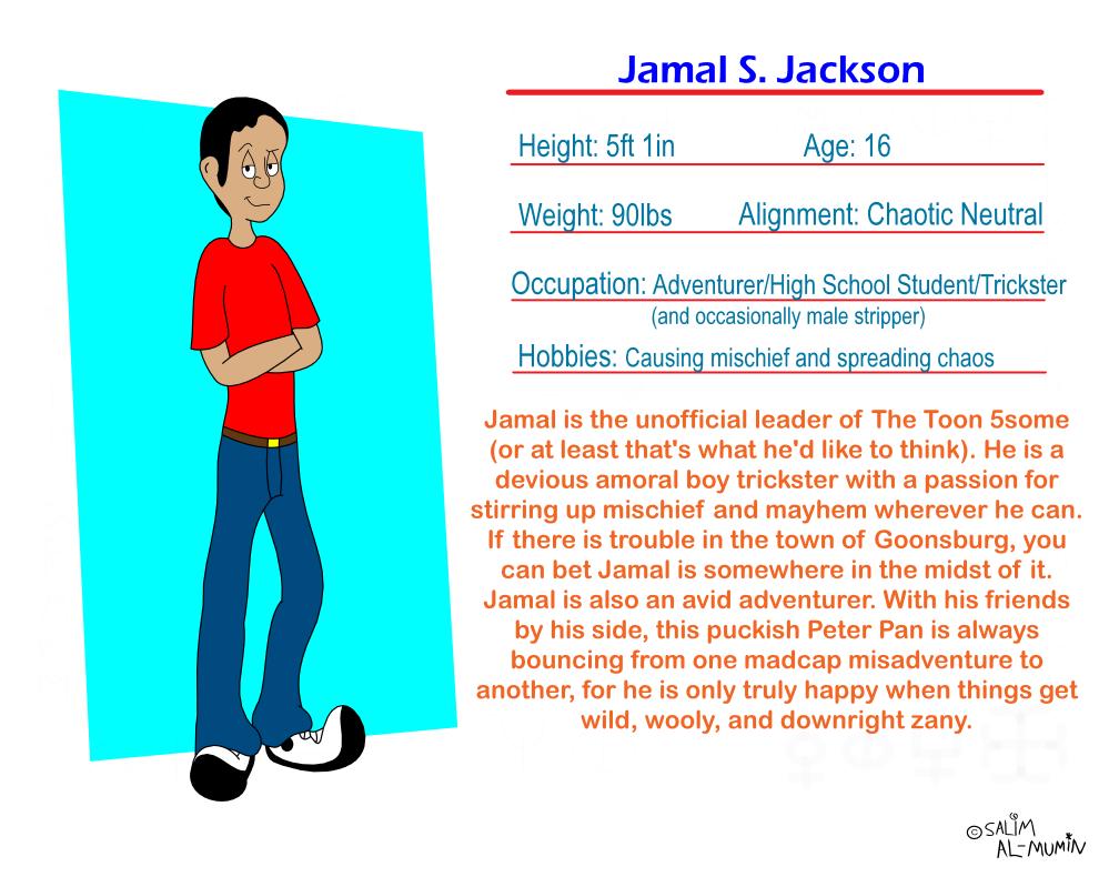 Fact File: Jamal S. Jackson