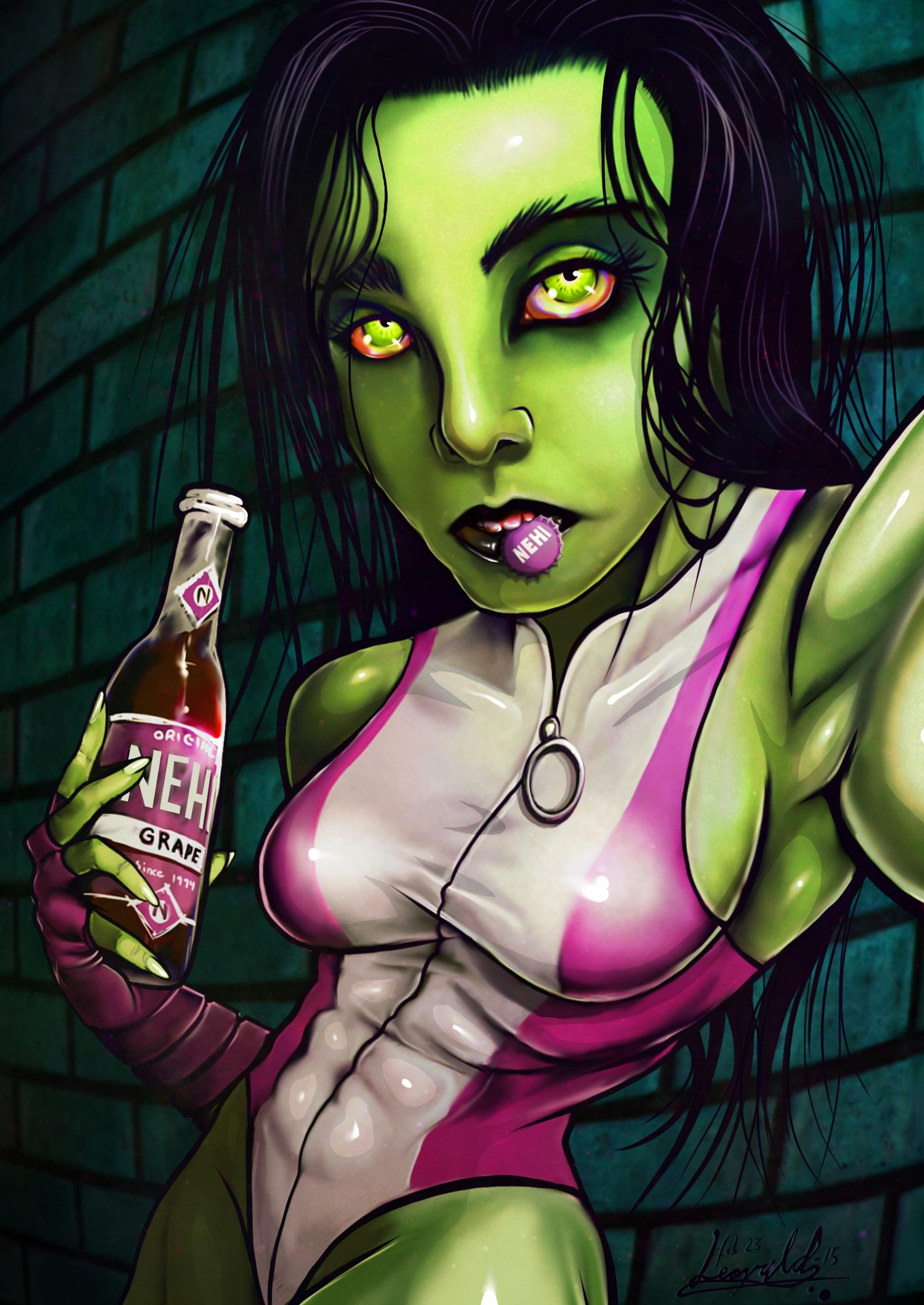 Grape flavored soda, anyone?