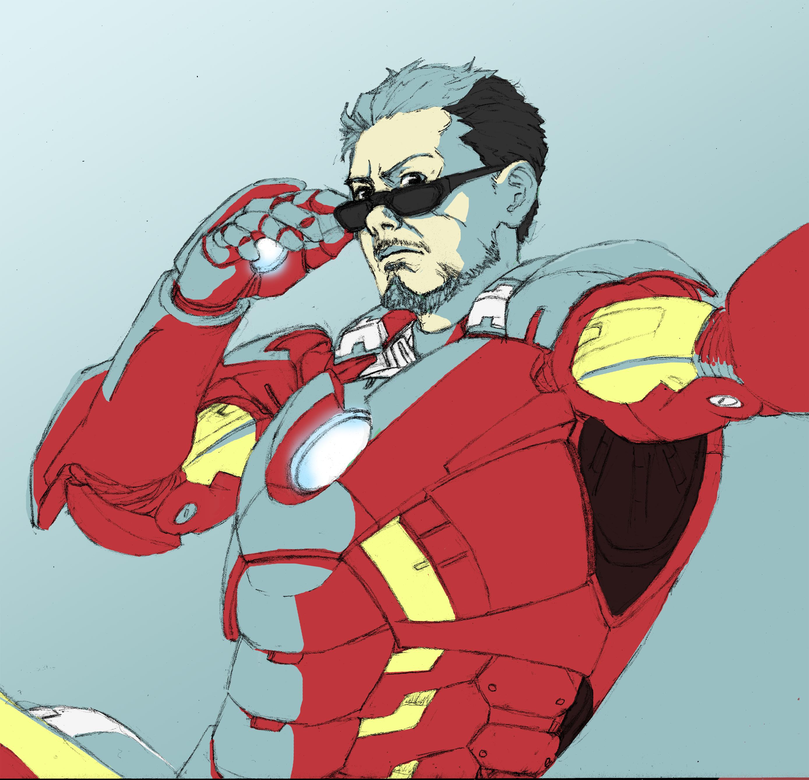 Tony Stark: SuperSelfie