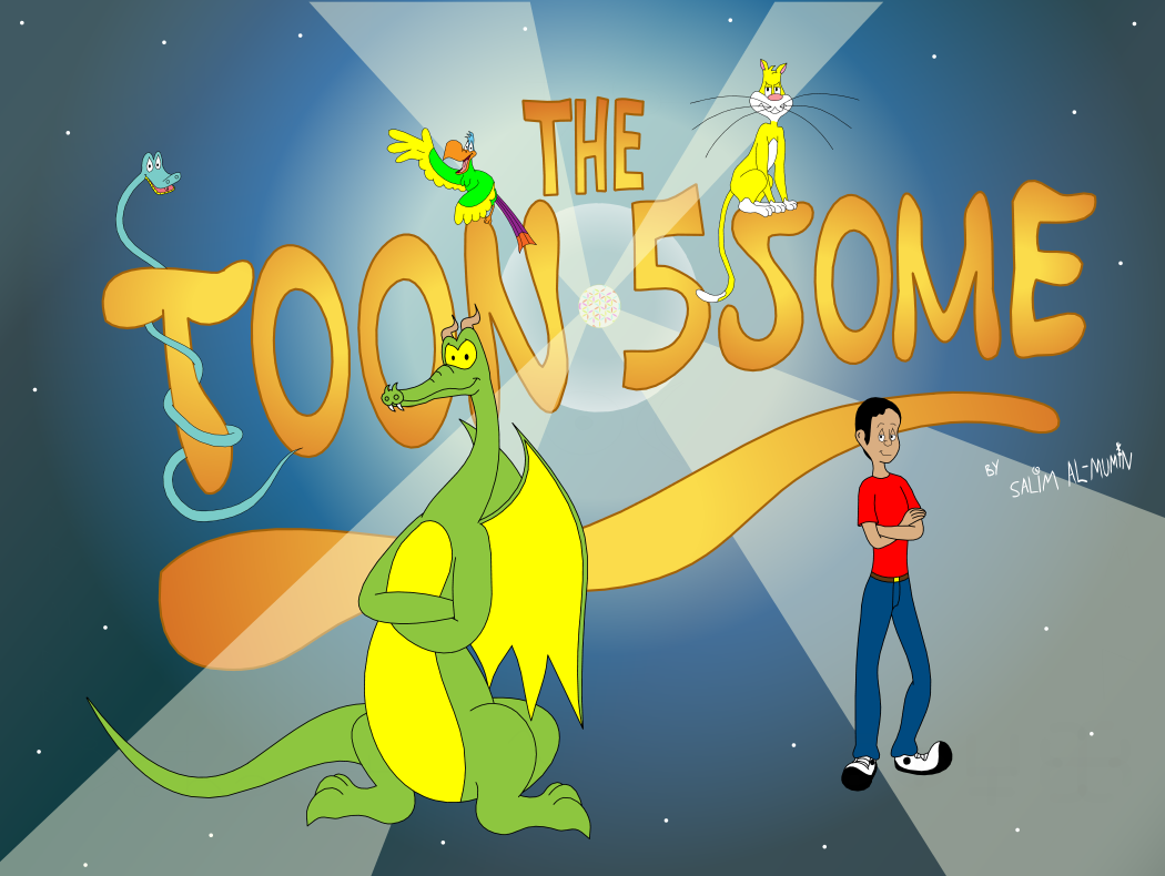 Toon 5some Title Screen