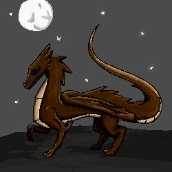 pixel dragon