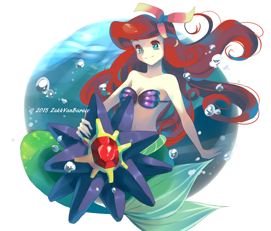 Ariel and Starmie