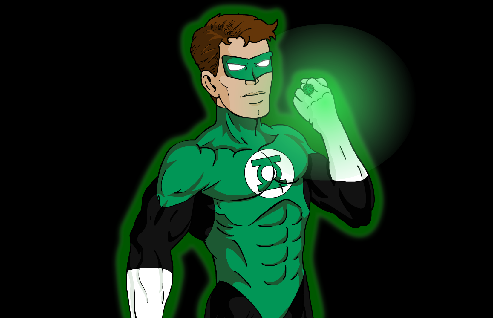 Green Lantern Cell Shaded