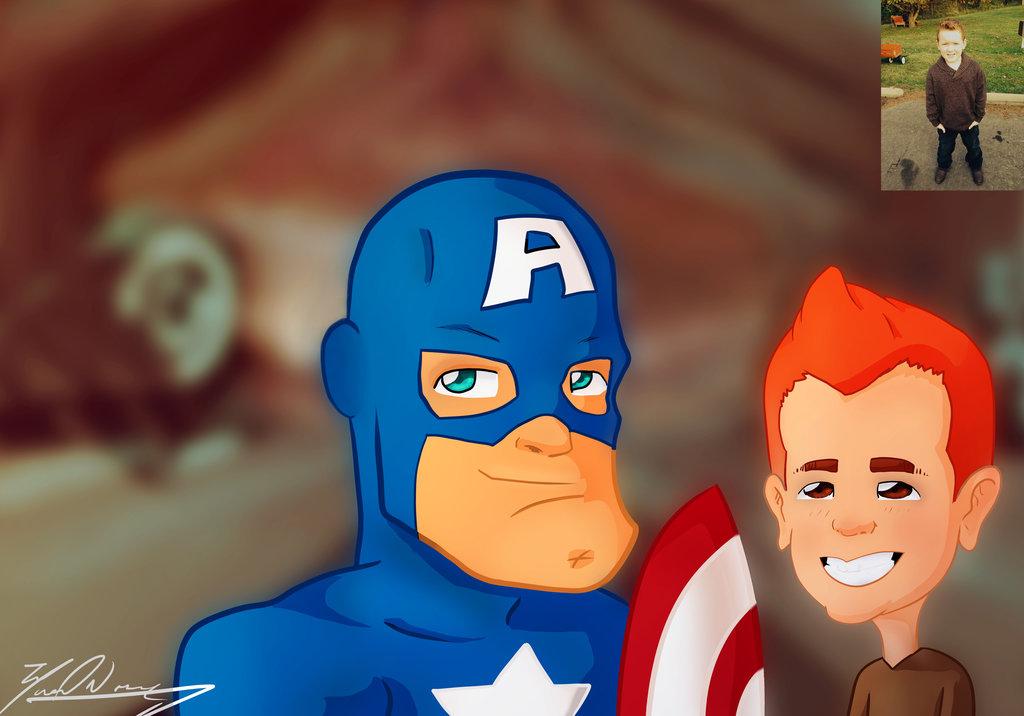 Captain America Fav. Hero