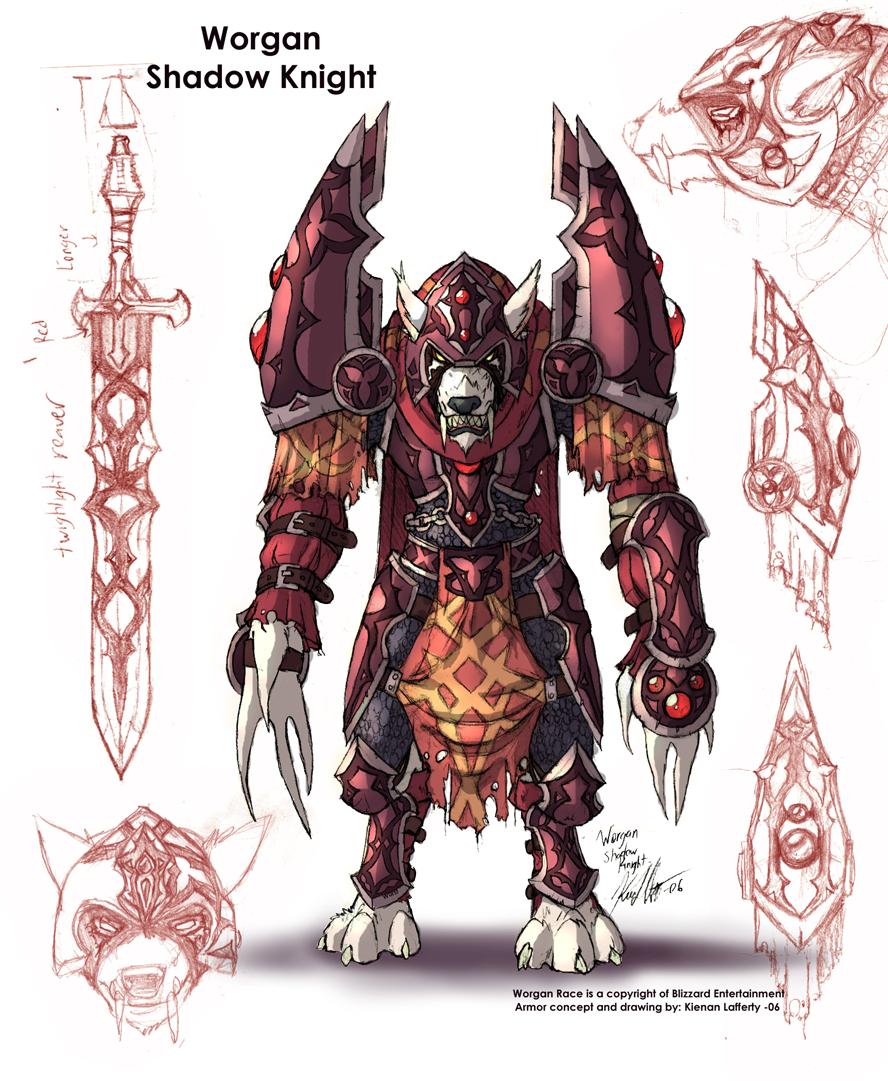 Worgen Shadow Knight
