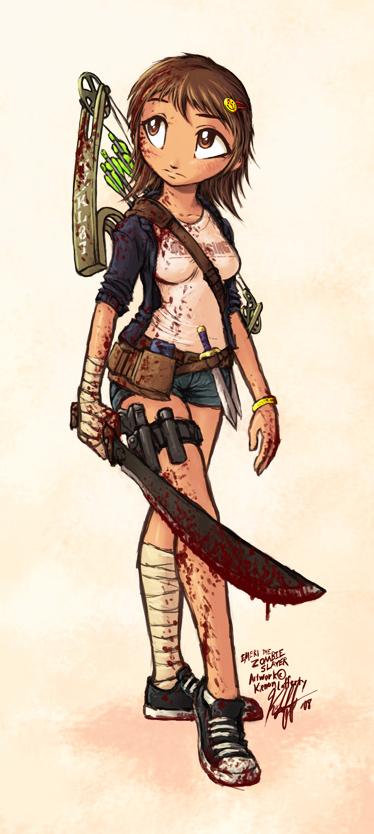 Emeri the Zombie Hunter