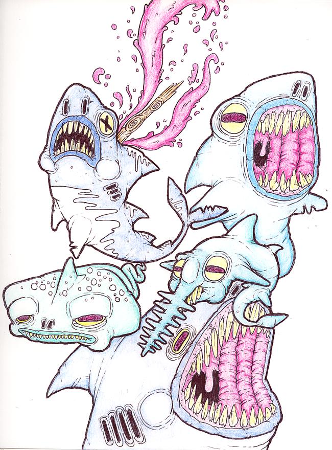 Its shark week bitches