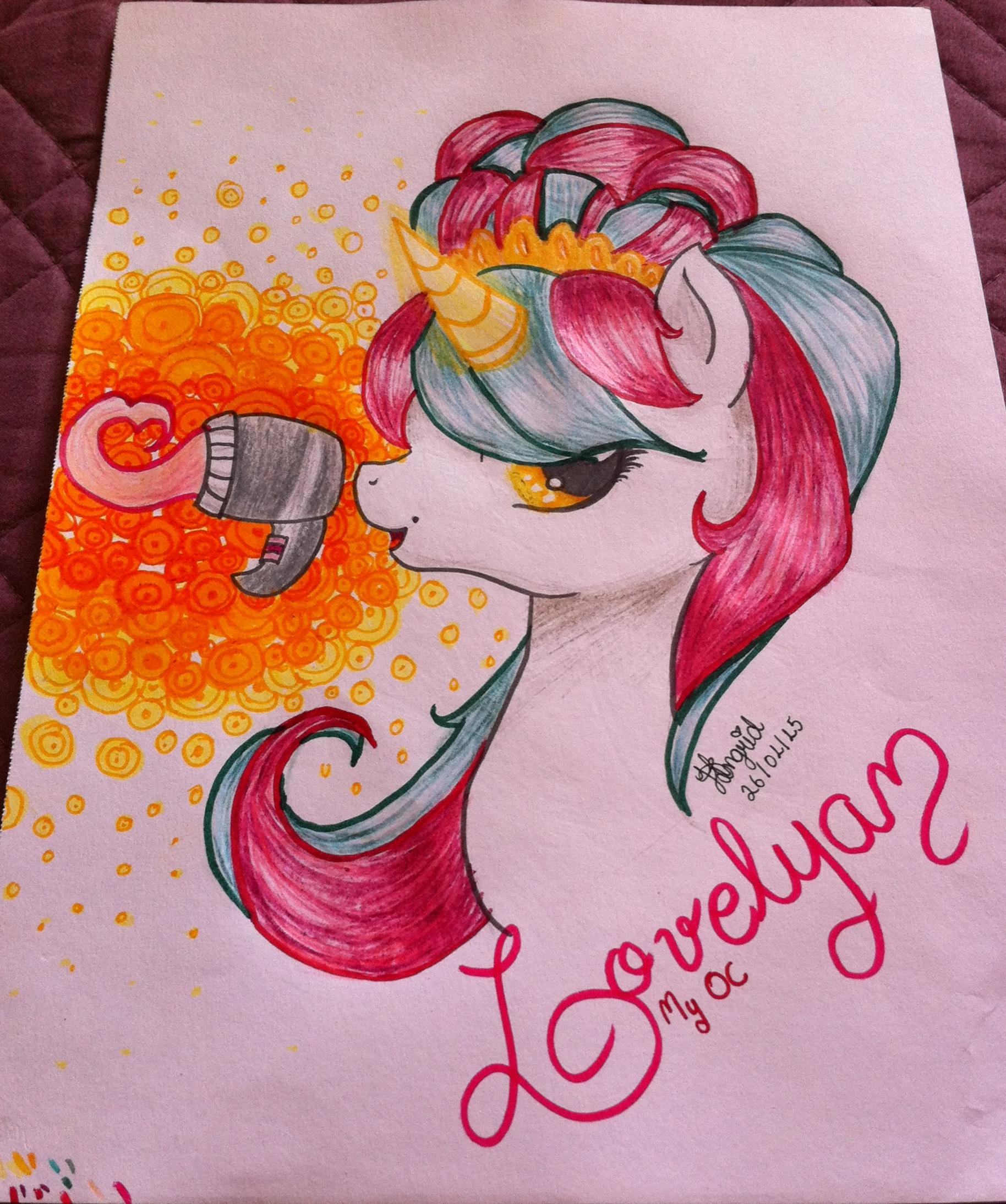 MLP My OC: Lovelya