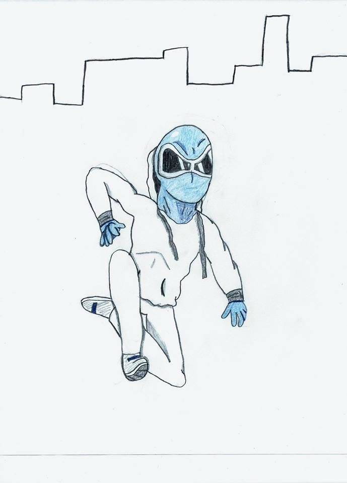 The Blue Climber