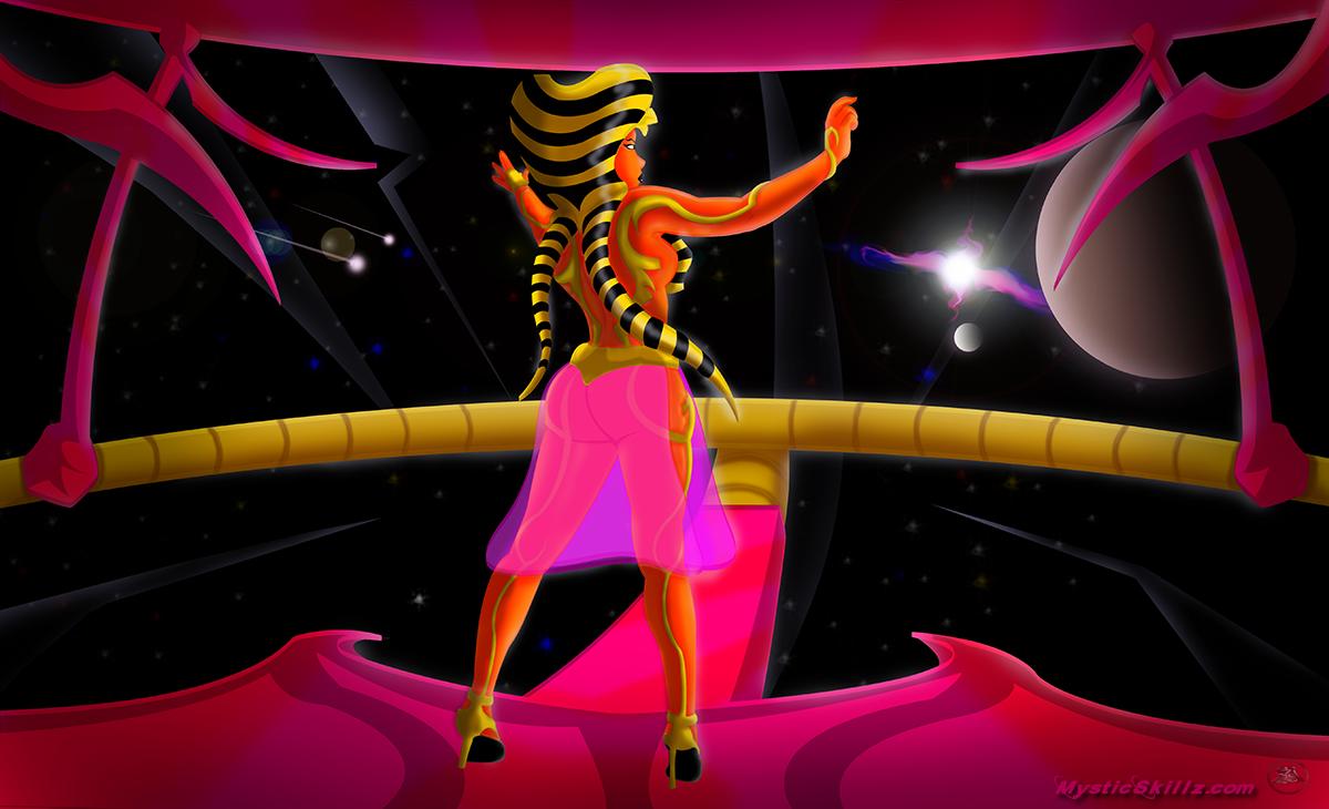 Mother Queen Stargaze