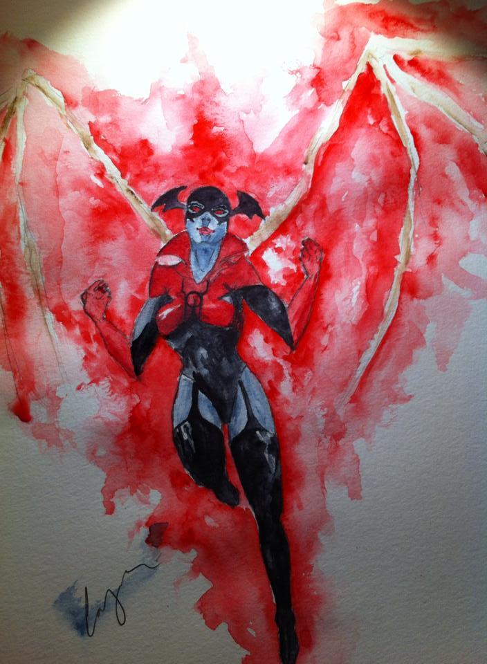 Red Lantern Bleez