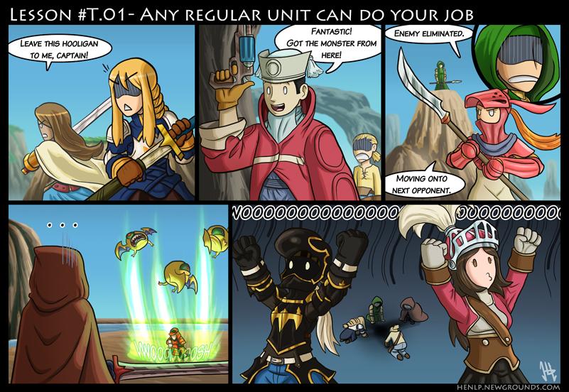Final Fantasy Lesson #T.01