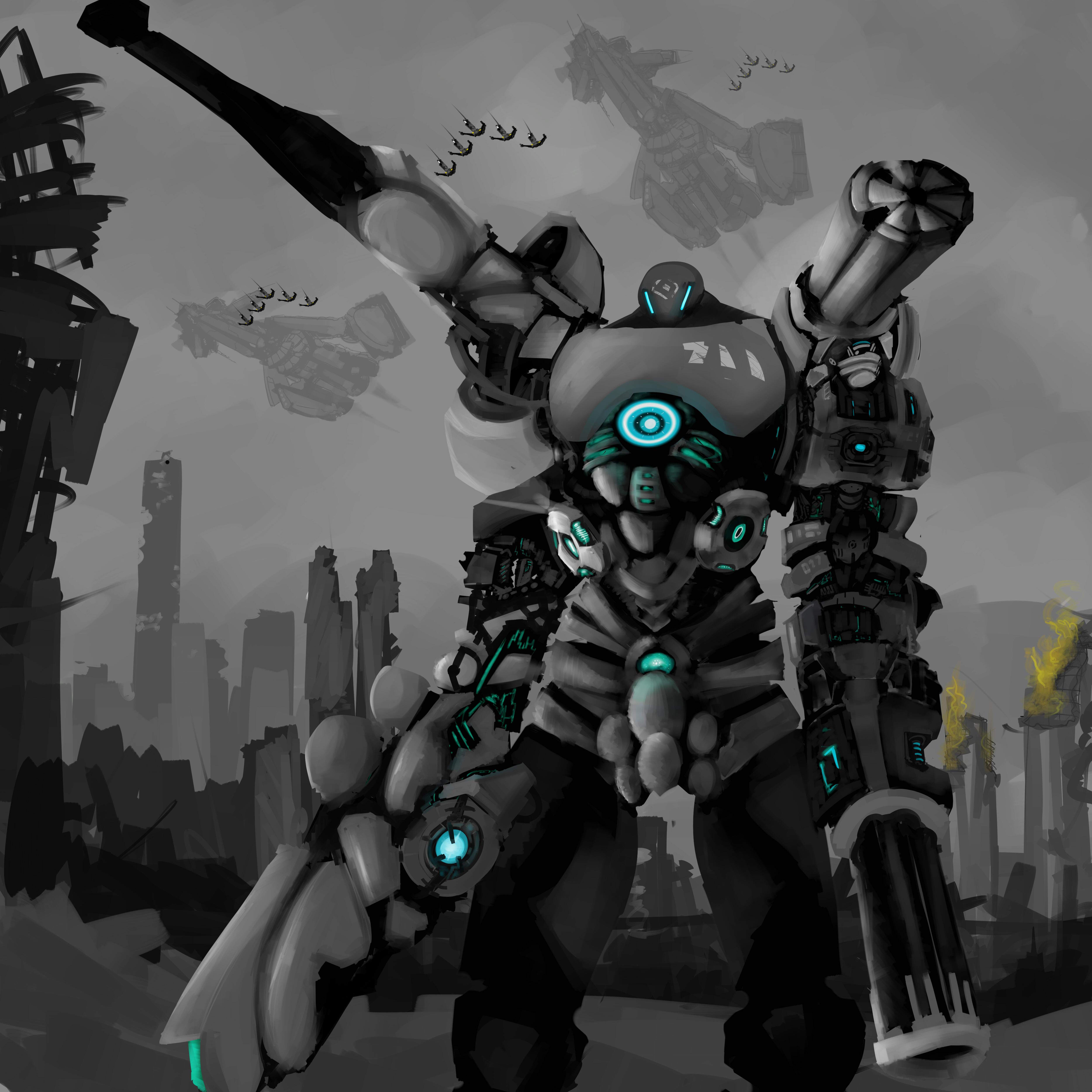 "Black Legion ""Juggernaut"" CB"