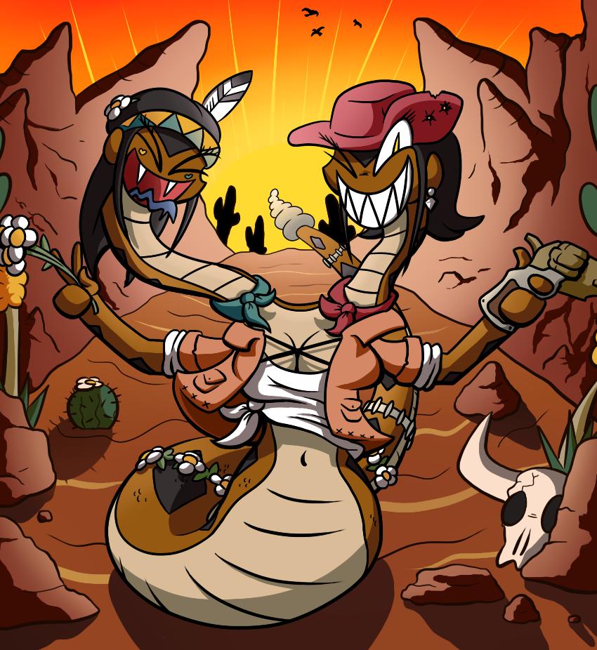 Monster Gurls - Naga