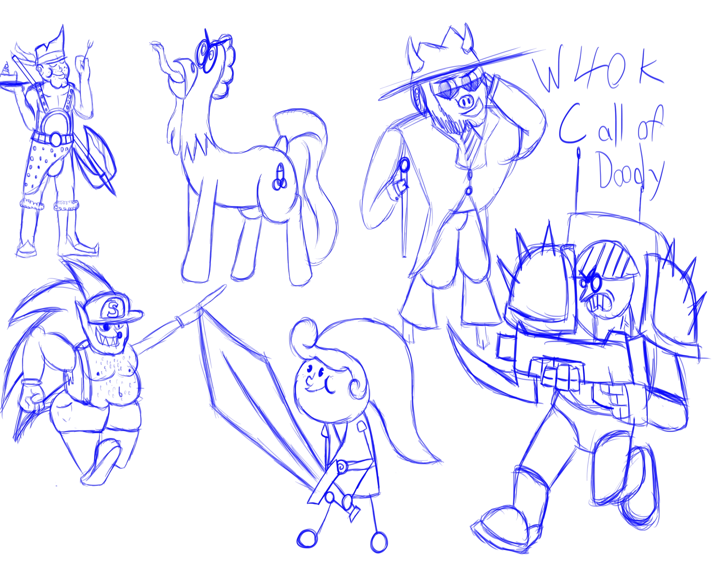 Sketch Trade 1