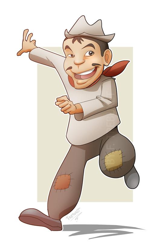 Cantinflas Cartoon