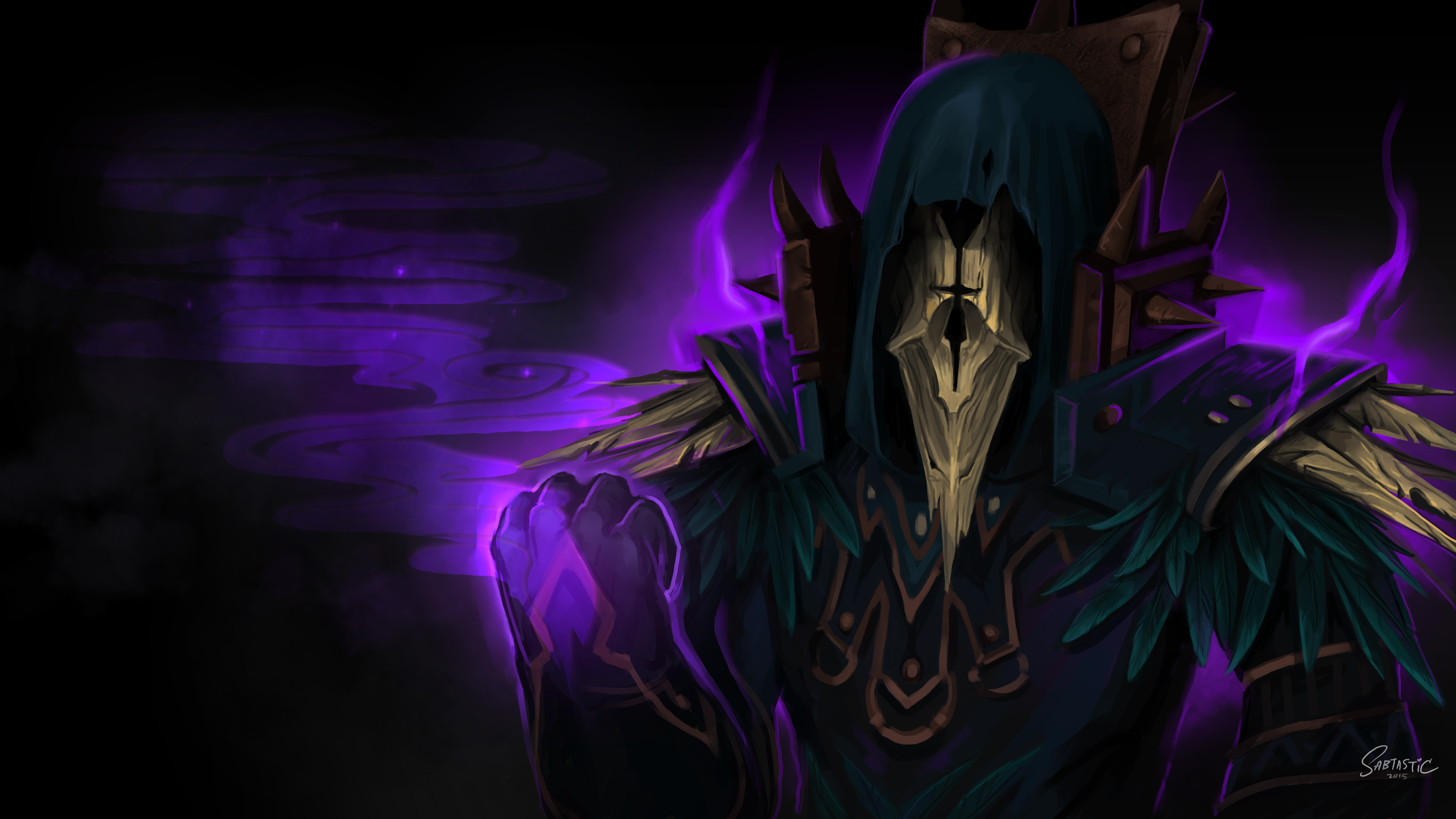 Undead Warlock WOW Commission
