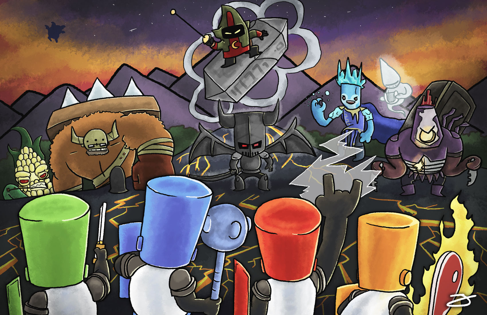 Castle Crashers: Showdown