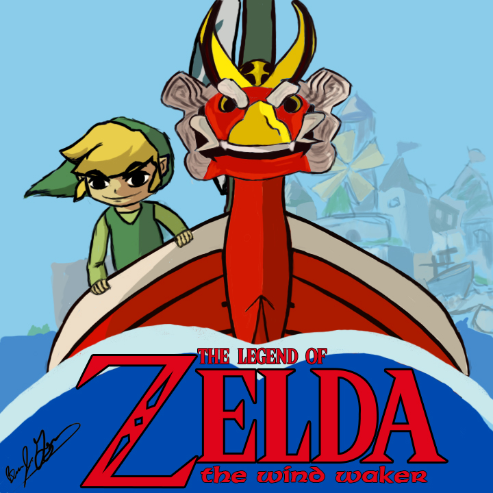 Legend of Zelda the WInd Waker