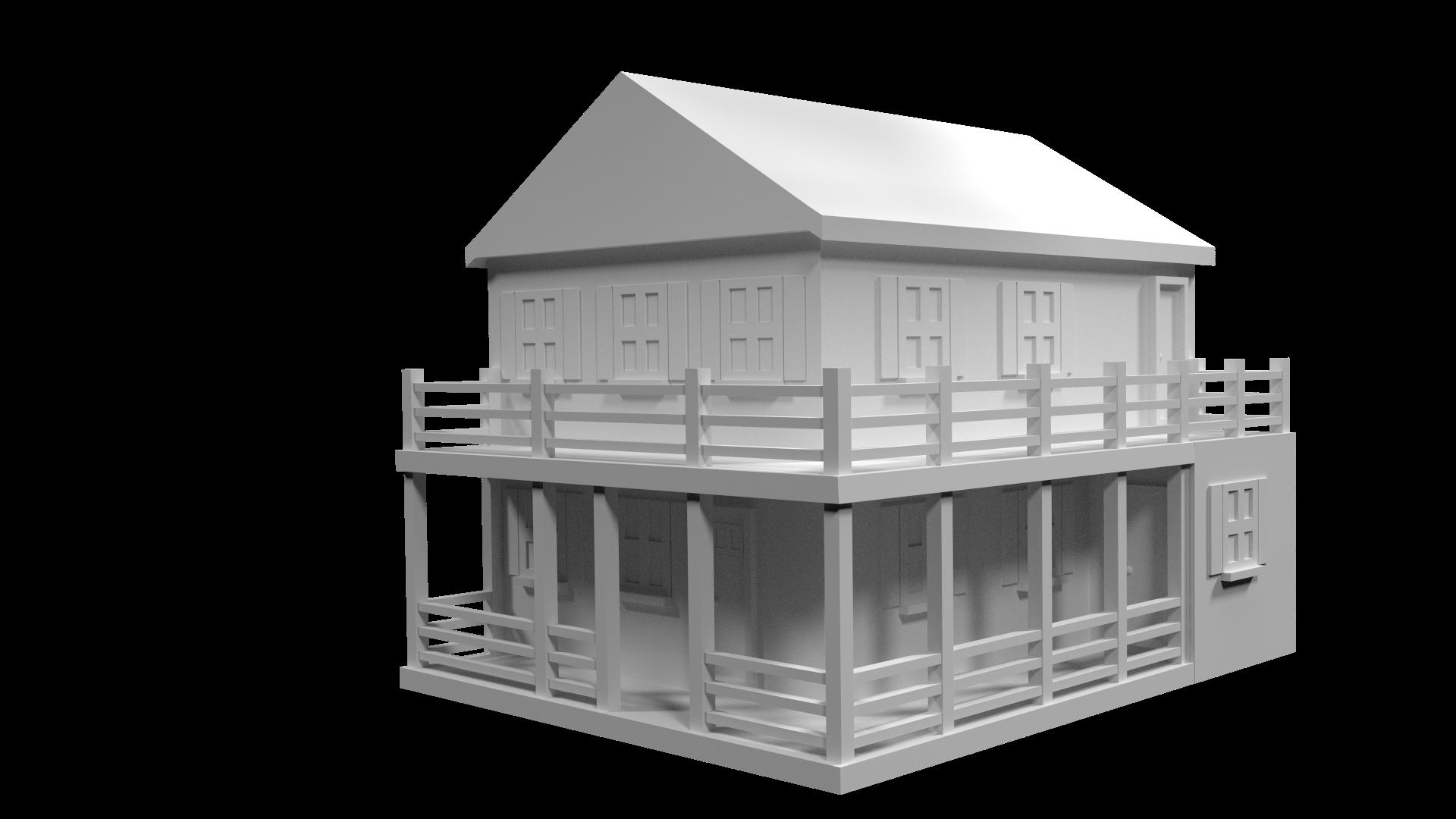 Farm House (3D)