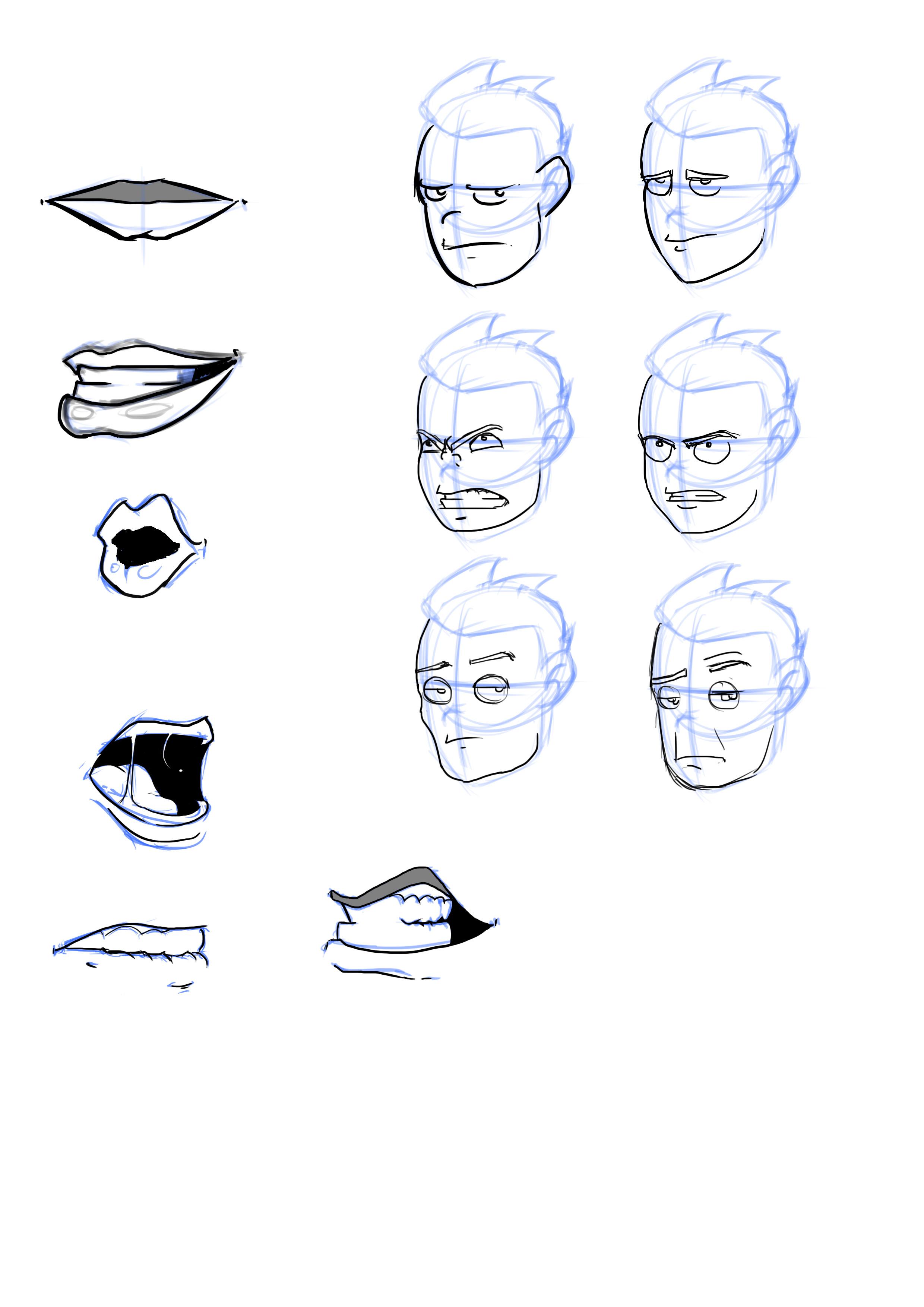 random anatomy