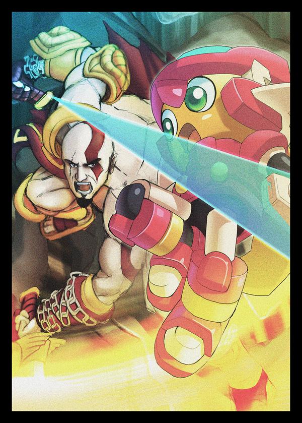 Kratos Vs. Servbot