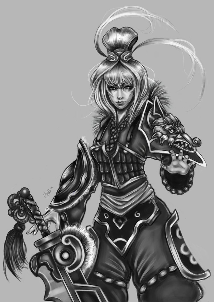 Dragonblade Riven