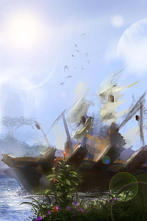 speedpaint ship