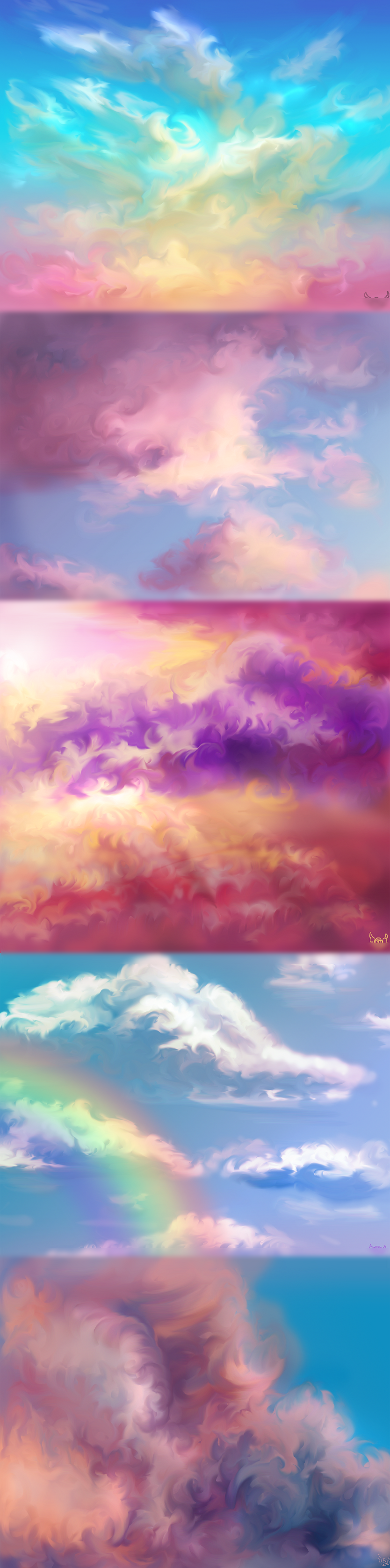 Sky Painting Practice