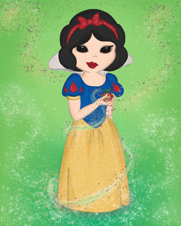 Snow White's Poison Apple