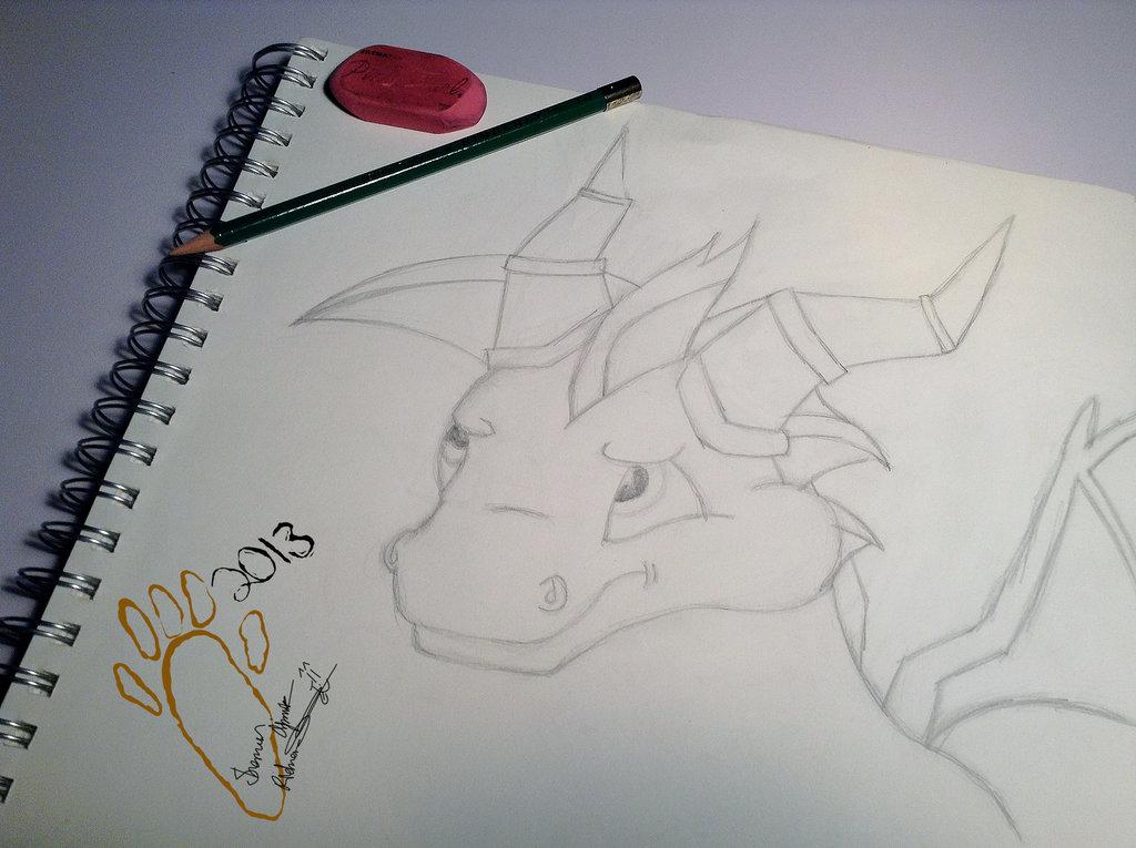 Spyro the Dragon - Sketch