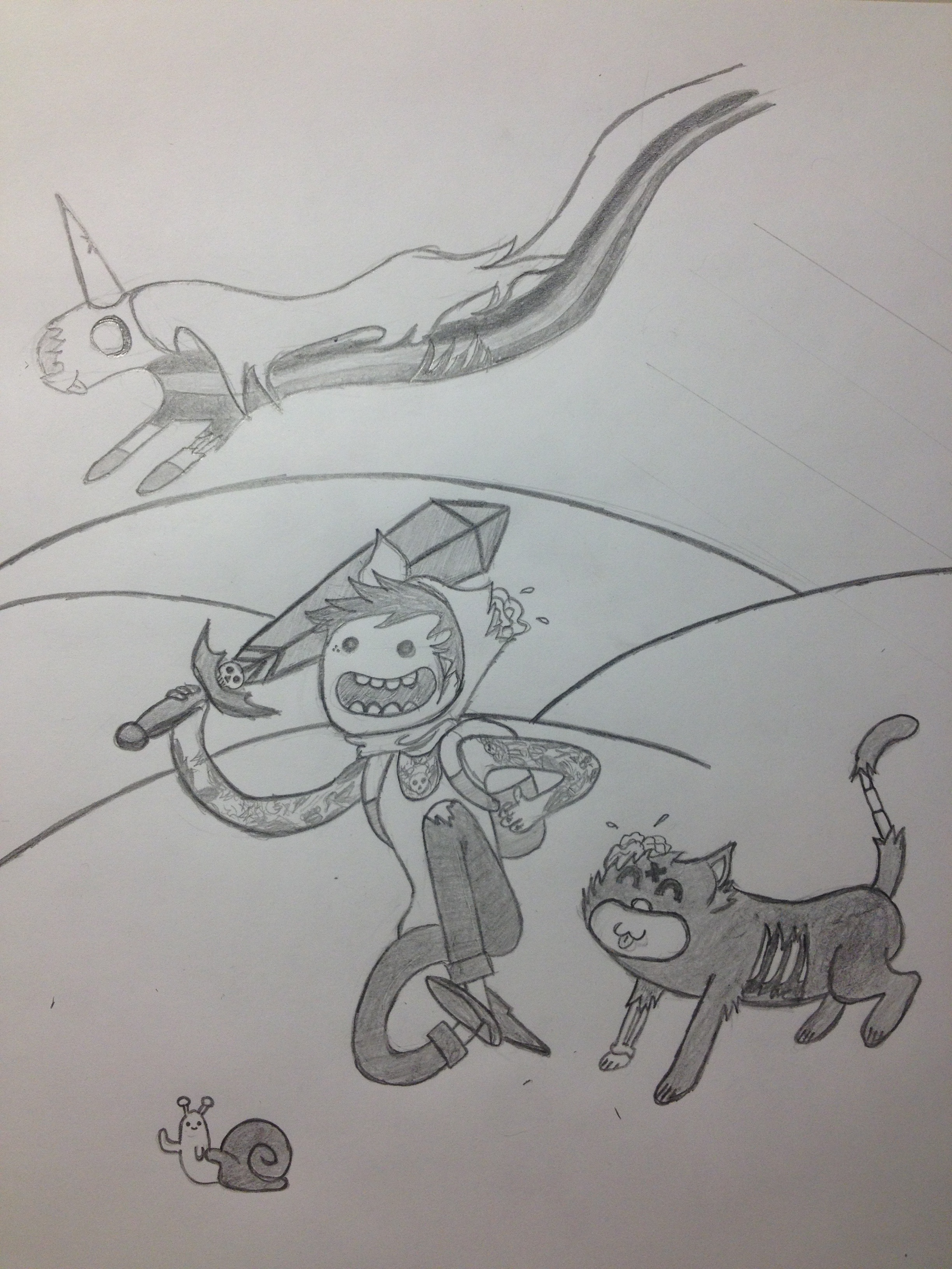 Oliver Sykes Adventure Time