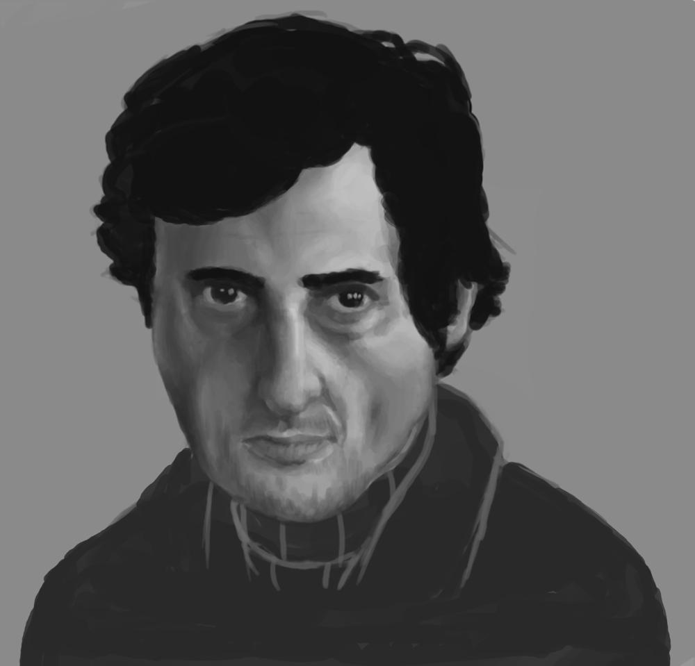 Jason Miller portrait