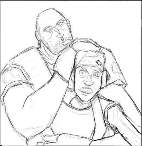 Heavy and Scout
