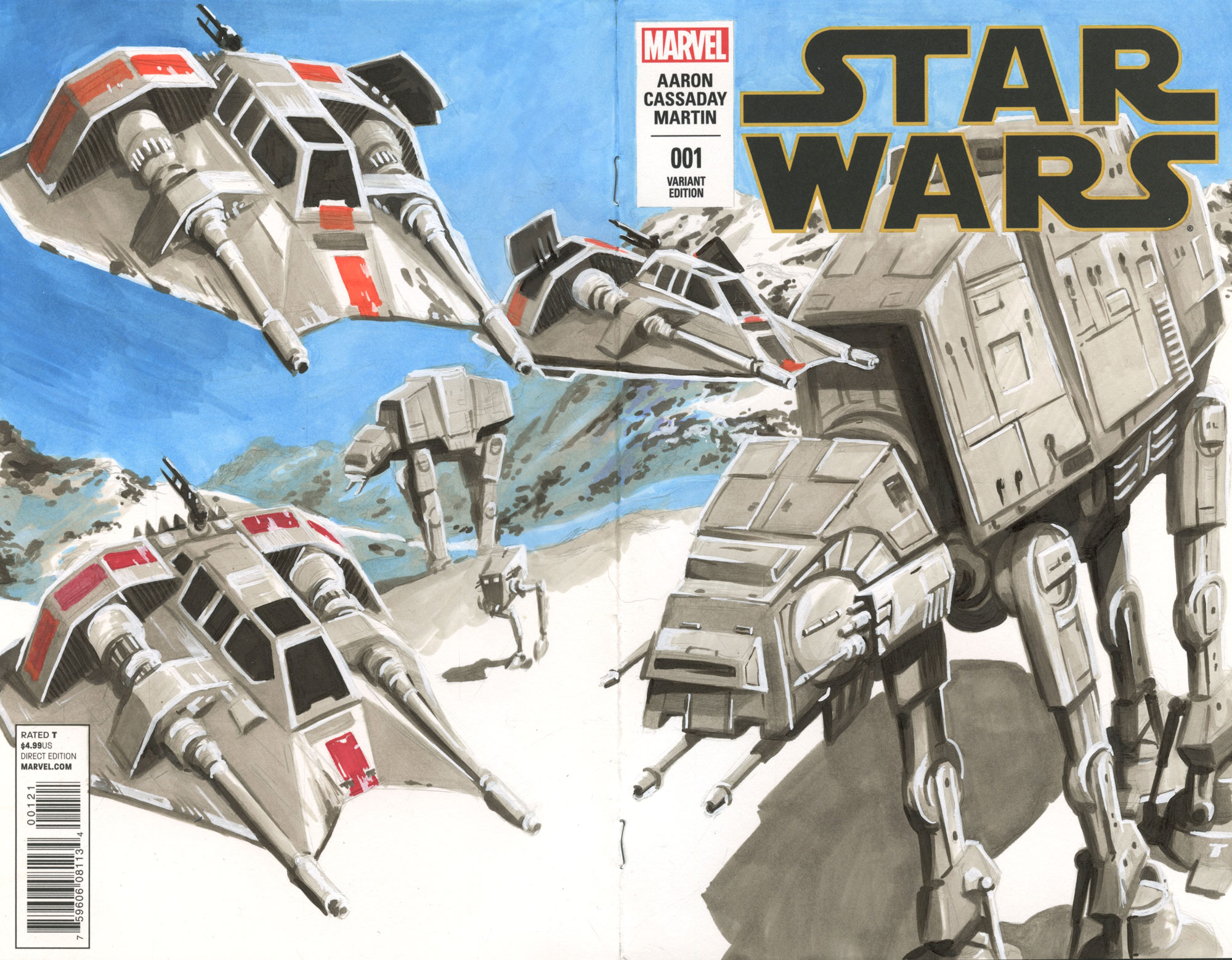 Star Wars Issue 1 Variant